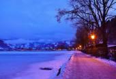 Mountains ski resort Zell am See - Austria — Stock Photo