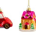 conjunto de adornos de Navidad — Foto de Stock   #56063141