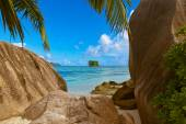 Beach Source d'Argent at Seychelles — Foto Stock