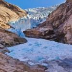 Briksdal glacier - Norway — Stock Photo #56208877