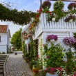 Street in old centre of Stavanger - Norway — Stock Photo #56208937