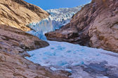 Briksdal glacier - Norway — Stock Photo