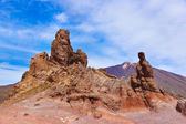 Rock at volcano Teide in Tenerife island - Canary — Stockfoto