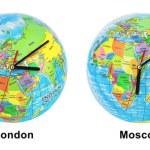 Clocks timezone — Stock Photo #56696901