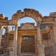 Ancient ruins in Ephesus Turkey — Stock Photo #56794743