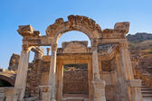 Antigas ruínas na turquia de éfeso — Foto Stock