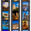 Frames of film - Spain travel images (my photos) — Stock Photo #56877599