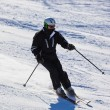 Skier at mountains ski resort Bad Gastein - Austria — Stock Photo #57241997