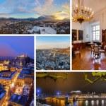 Collage of Salzburg Austria images — Stock Photo #57243481