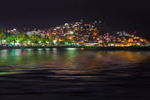 Night view of Kusadasi Turkey — Stock Photo
