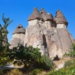 Fairy chimneys (rock formations) at Cappadocia Turkey — Stock Photo #59511733
