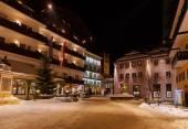 Bergen ski resort bad hofgastein österrike — Stockfoto