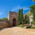 Alhambra palace at Granada Spain — Stock Photo #60576707