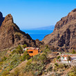 Village Masca at Tenerife island - Canary — Stock Photo #60576749