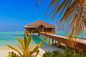 Spa saloon on Maldives island — Stock Photo