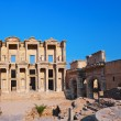 Ancient Celsius Library in Ephesus Turkey — Stock Photo #62398415