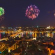 Fireworks in Istanbul Turkey — Stock Photo #62653155