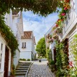 Street in old centre of Stavanger - Norway — Stock Photo #63033227