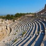 Ancient amphitheater in Ephesus Turkey — Stock Photo #64785831