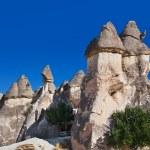 Rock formations in Cappadocia Turkey — Stock Photo #64789455