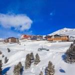 Mountain ski resort Hochgurgl Austria — Stock Photo #65629019