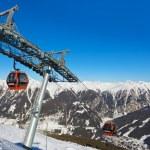Mountains ski resort Bad Gastein - Austria — Stock Photo #66225657