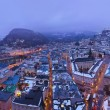 Salzburg Austria at winter — Stock Photo #66225763