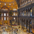 Hagia Sophia interior at Istanbul Turkey — Stock Photo #66685269