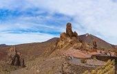 Tenerife adasında - kanarya teide yanardağı — Stok fotoğraf