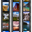 Frames of film - Norway travel images (my photos) — Stock Photo #67848277