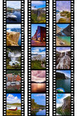 Frames of film - Norway travel images (my photos) — Stock Photo