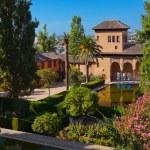Alhambra palace at Granada Spain — Stock Photo #68185287