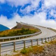 Famous bridge on the Atlantic road in Norway — Stock Photo #69657843