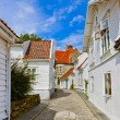Street in old centre of Stavanger - Norway — Stock Photo #69657865