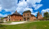 Krutitskoe Compound Cathedral in Moscow Russia — Stock Photo