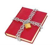 Book and chain — Foto de Stock