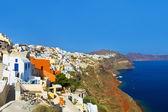 Santorini view (Oia), Greece — Stock Photo