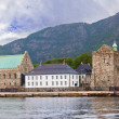 Old fortress in Bergen Norway — Stock Photo #73612557