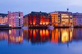 Cityscape of Bergen - Norway — Stock Photo