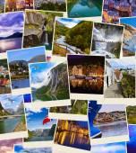 Pile de photos de voyage Norvège — Photo