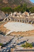Ancient amphitheater in Ephesus Turkey — Stock Photo
