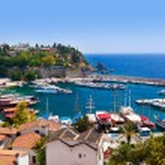 Old town Kaleici in Antalya, Turkey — Stock Photo #76814331