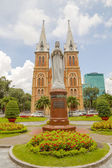 Regina Pacis statue in Ho Chi Minh City — Stock Photo