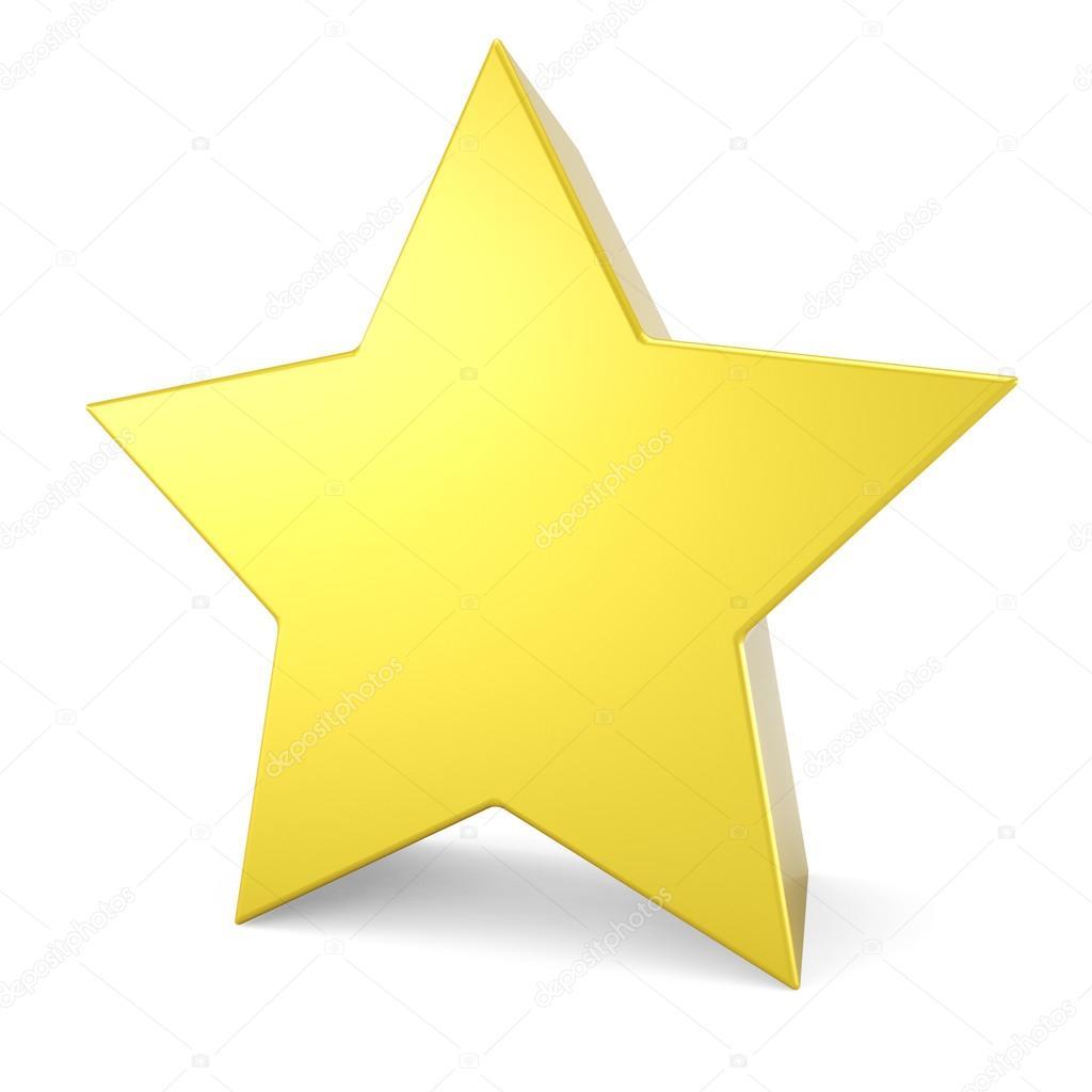 estrella amarilla 3d aislado sobre fondo blanco foto de yellow star clip art no background yellow star clip art no background