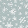 Seamless snowflakes background. — Stock Vector #55259103