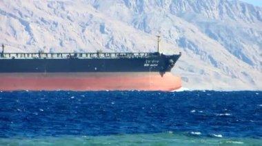 Oil tanker — Stock Video