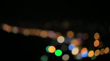 Bokeh lights — Stock Video