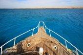 Nose yacht — Stock Photo