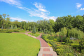 Park in Mezhyhirya — Stock Photo
