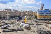 Independence Square in Kiev — Stock Photo